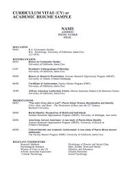 Resume Template For Graduate School Sample Resume Cover Letter