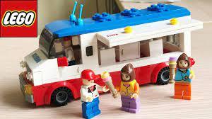 Đồ chơi lắp ráp Lego city con trai Xe bán kem công viên - Lego Ice Cream  Carts (Chim Xinh) - YouTube