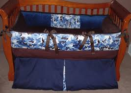 gorgeous kid bedroom decoration using camo kid bedding set lovely image of blue baby nursery