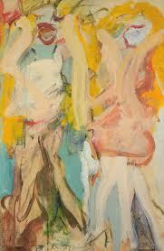 willem de kooning women singing ii 1966 oil on paper on canvas