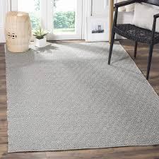 flat woven area rugs new safavieh montauk handmade geometric flatweave ivory grey cotton rug