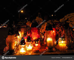 Eternal Light Cemetery Hours Light Eternal Memory Lodz Poland November 2018 Light Candles