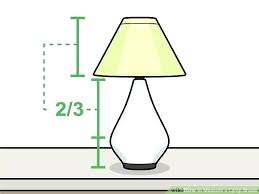 how to measure for a lampshade lamp shade measurements image titled measure a lamp shade step 9 how to determine lamp shade laura ashley made to order lamp
