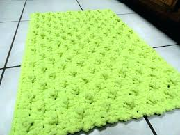 lime green yellow bath towels bright colored bathrooms agreeable bathroom rugs rug