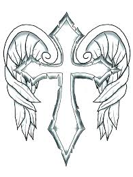 Coloring Pages Of Crosses Coloring Pages Of The Cross Cross Coloring