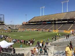 Sun Devil Stadium Section 45 Home Of Arizona State Sun Devils