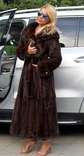 mink furs long black royal saga mink fur coat