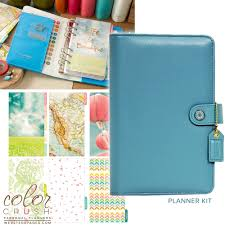 Websters Pages Color Crush Sky Personal Planner Kit