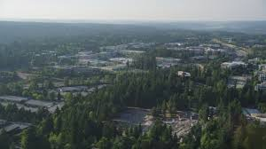 photo microsoft office redmond washington. 5K Aerial Video Of Flying By Microsoft Headquarters, Redmond, Washington Stock Footage AX49_036 Photo Office Redmond