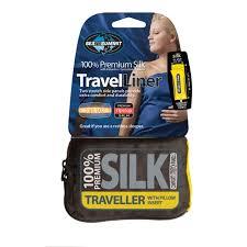 Sea To Summit Premium Silk Travel Liner With Pillow Insert