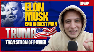 Elon Musk 2nd Richest Man - Trump ...