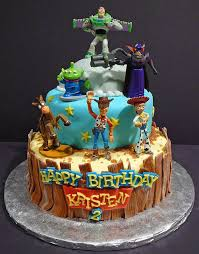 Kristens Toy Story Birthday Cake Decorated The Cake To Go Flickr