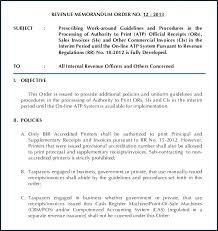 Cash Memo Format Credit Document Download Template
