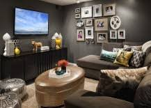 dark media room. It Is Either An Over-the-top Home Theater, Media Room Or The Hidden TV Nook That Grace Most Contemporary Interiors. So, When Did Good Ol\u0027 Start Dark