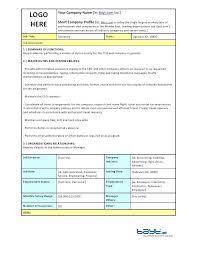 Employee Profile Sample Operations Manager Resume Employee Job Description Template Profile