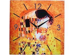 <b>Часы настенные</b> Климт. Поцелуй для нанесения логотипа ...