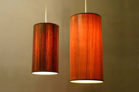 Image result for wood veneer pendant lighting