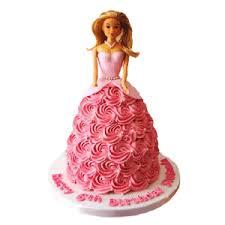 Flamboyant Barbie Cake Flower N Gifts