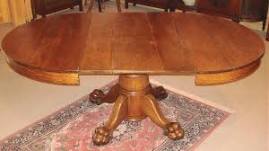 antique clawfoot table and chairs startling interior design 13