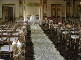 Wedding Ceremony Decorations Church Wedding Decorations And Ideas Black Monterey Tuxedo Notch