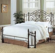 wrought iron headboard full. Interesting Iron Full Size Of Bedroom Black Wrought Iron Headboard Bench Made From   Inside A