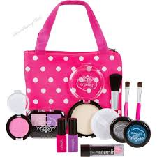 makeup kits for little girls. pretend play makeup kit with bag toy cosmetic set girls toys fake cosmetics kits for little s