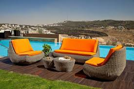 Modern Design 5 Piece Outdoor Wicker Rattan Outdoor Patio Furniture Sdi Factory Direct Wholesale