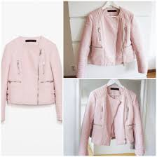 pastel pastel pink pastel jacket baby pink light pink girly leather jacket coat jacket wheretoget