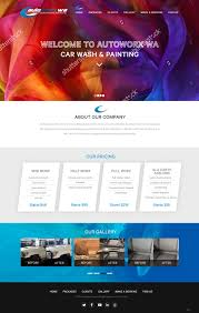 Matt S Web Design Upmarket Playful Automotive Wix Design For Autoworx By Pb