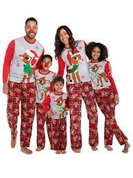 Jammin Jammies Size Chart Top 9 Recommendation Reindeer Pajamas For Family 2019