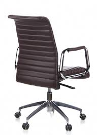 aspera 10 executive office nappa leather brown. Hjh OFFICE, 600914, Executive Chair, Office Swivel , ASPERA 10, Brown, Leather, Ergonomic Backrest, Synchronous Mechanism For Maximum Comfort, Aspera 10 Nappa Leather Brown I