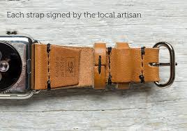 lowry cuff leather apple watch band