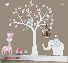nursery wall decals ukchildren wall decals baby wall decor stickers best baby fresh white tree wall