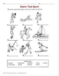 Виды спорта на английском языке Подпишите картинки виды спорта