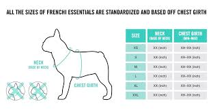 Frenchiessentials Sizing
