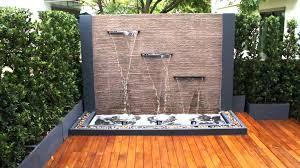 wall water fountain outdoor innovative garden wall water features spectacular garden water wall ideas garden