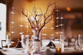 Creative DIY Tall Centerpieces With Branches And Decorative Paper (Image 7  of 30)