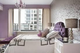 bedroom design purple. Contemporary Purple Floral Wallpaper Great Bedspread U0026 Pattern Stands Out With Purple Wall  The Rug In Bedroom Design Purple