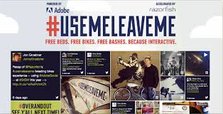 Webby Awards: Use Me Leave Me