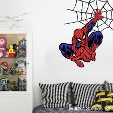 spidey web custom super hero wall