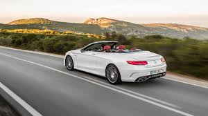 2017 Mercedes-AMG S63 Cabriolet S-Class convertible first drive ...