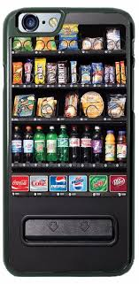 Portable Vending Machines Amazing Candy Snacks Vending Machine Phone Case Cover Fits IPhone Samsung LG