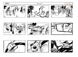 Film Storyboards DIRT STUDIOWHITE VISUALS Concept Art Storyboards 1