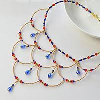 Beaded Necklace Patterns Inspiration Seed Bead Necklace Patterns Tutorial Instructions On Seed Bead