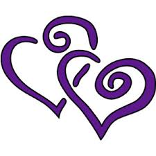 Image result for purple heart clipart