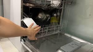 Máy rửa chén bát 8 bộ Fujishan, electrolux, erosun, Bosch Dùng được cho mấy  người liệu có chật không - YouTube