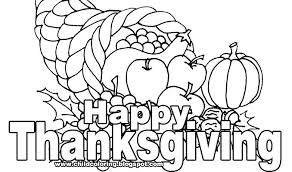Happy Thanksgiving Coloring Pictures Happy Thanksgiving Turkey Page