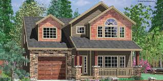small lot lake house plans e story house plans for narrow lots 1 1 2 story