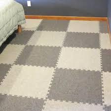 carpet tiles bedroom. Royal Interlocking Carpet Tile Bedroom Flooring Installation. Tiles