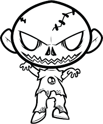 Zombie Coloring Pages Coloring Book Page Intrabookclub